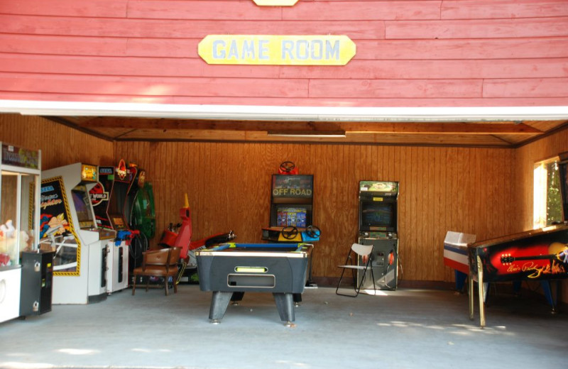 Game room at Flamingo Resort.