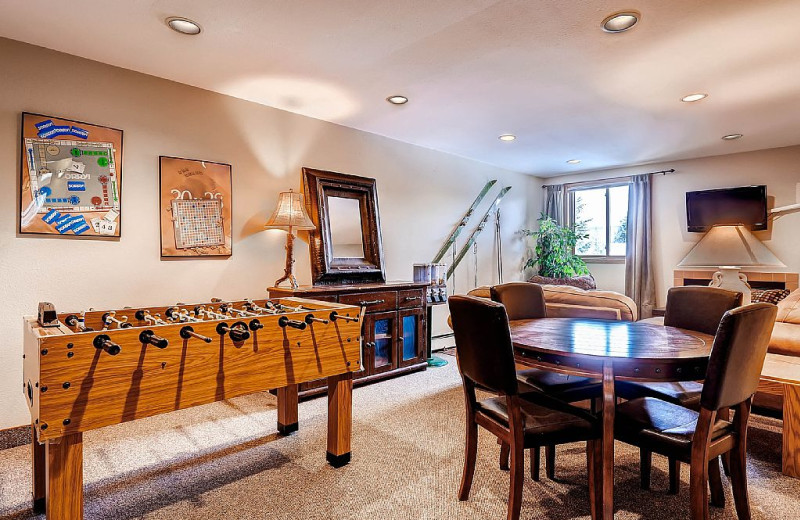 Rental interior at Wildwood Suites.