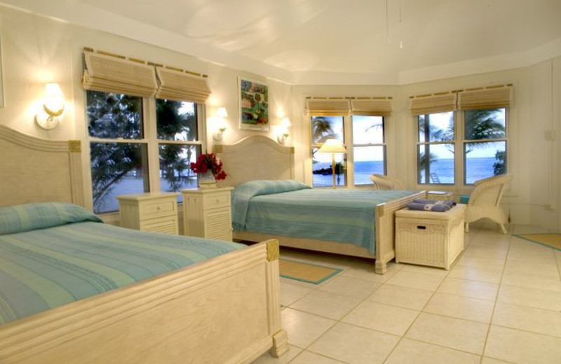 Guest room at Southern Cross Club & Dive Resort.