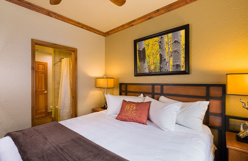 Guest room at Westgate Park City Resort & Spa.