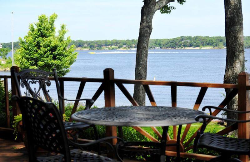 Deck view at Dream Catcher Point Resort.
