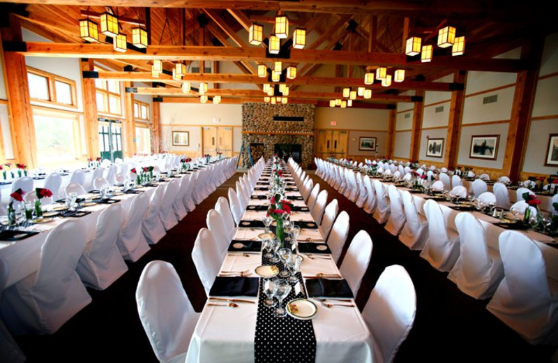 Dining room at Heartwood Conference Center & Retreat.
