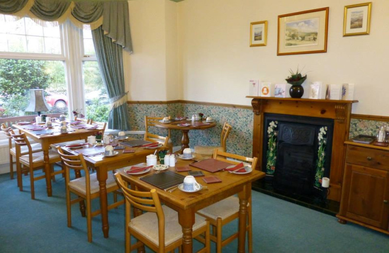 Dining at Haisthorpe Guest House.