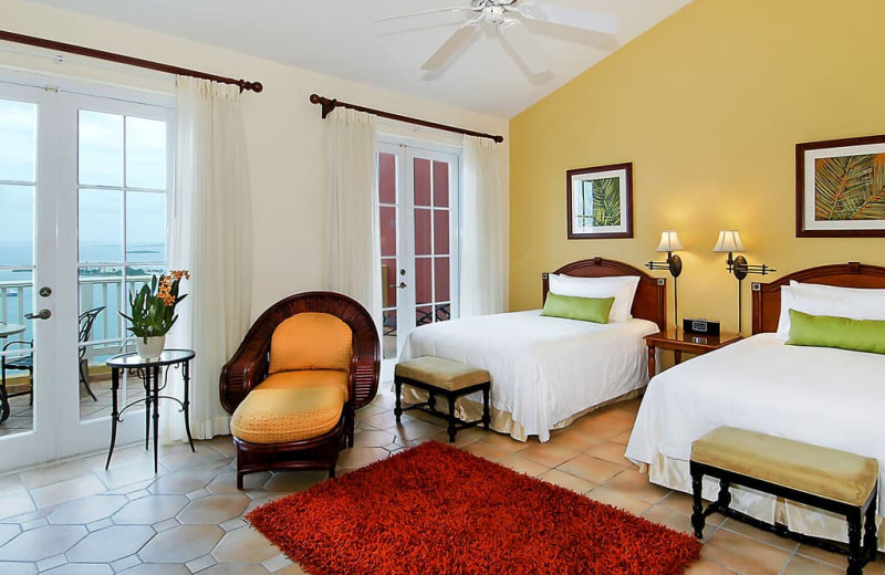 Guest room at Las Casitas Resort.