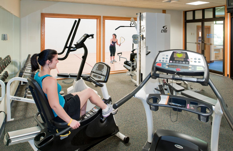 Exclusive Fitness Center at the Summit Resort.