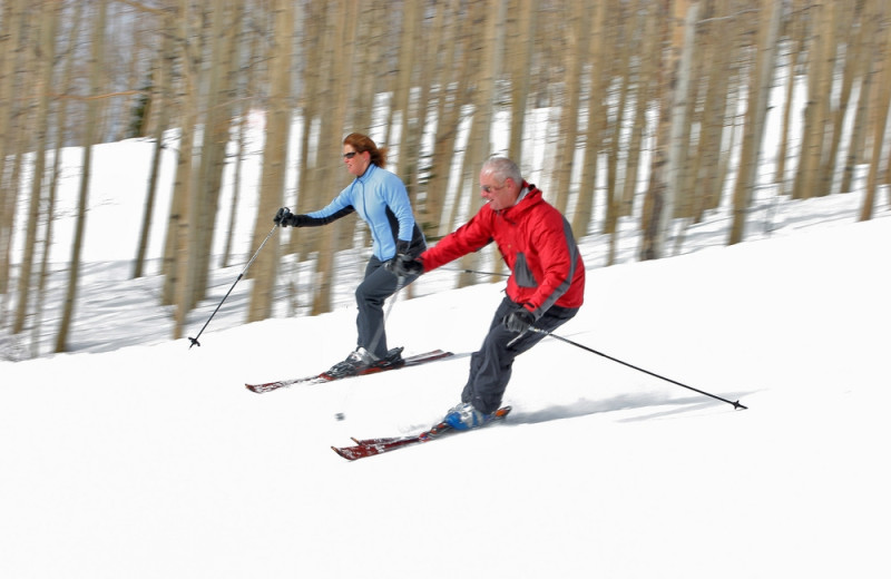 Skiing at The Bella Vista Estate.