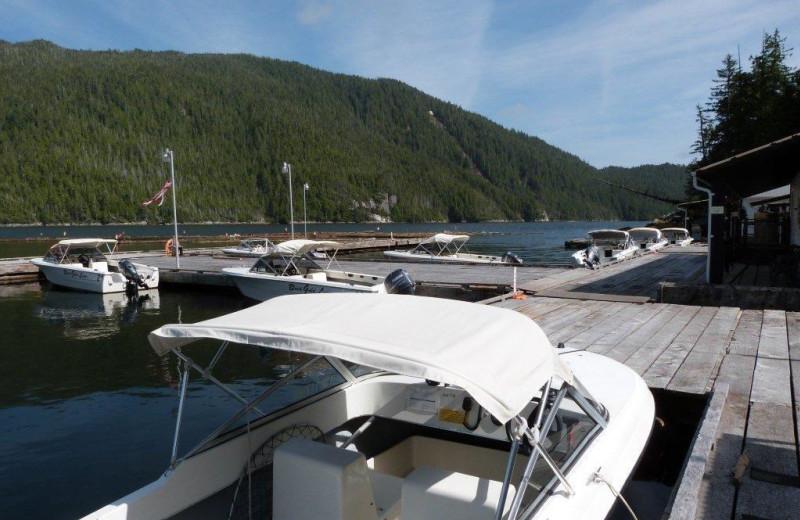 Docks at Black Gold Lodge