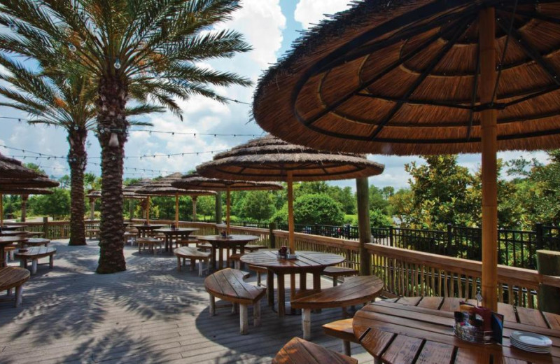 Patio at Holiday Inn Club Vacations at Orange Lake Resort.