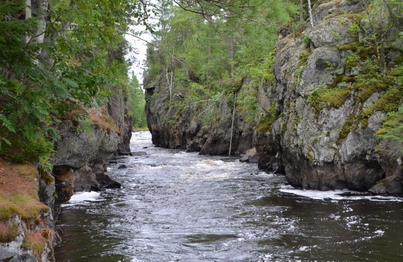 River at White Eagle Resort.