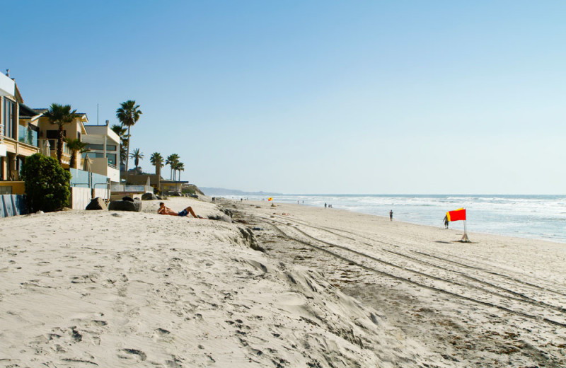 Beach In-Front of Property in Del Mar, California