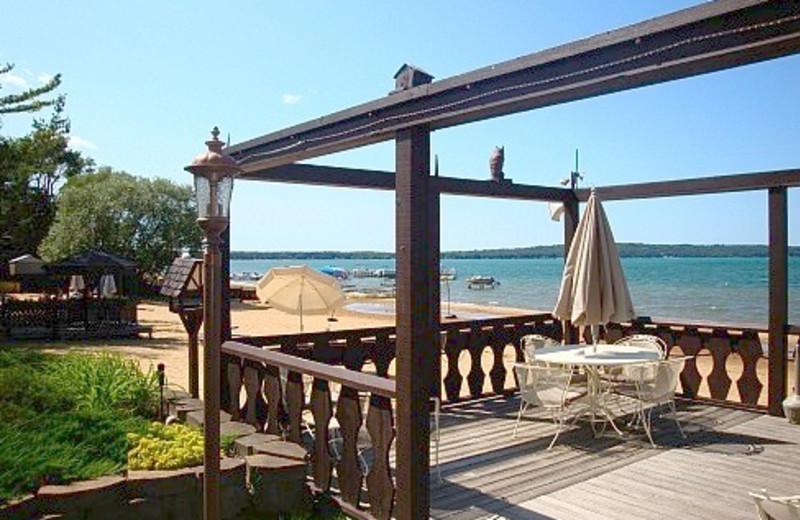 Beach Patio at The Beach Haus Resort