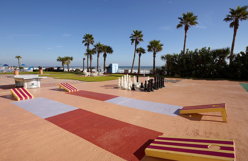 Shuffle board at Plaza Resort & Spa.