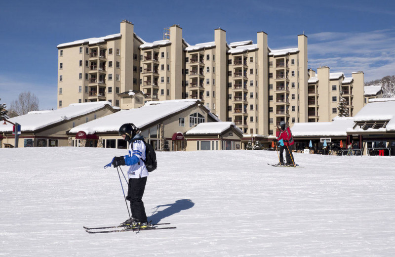 Skiing at Torian Plum Resort.