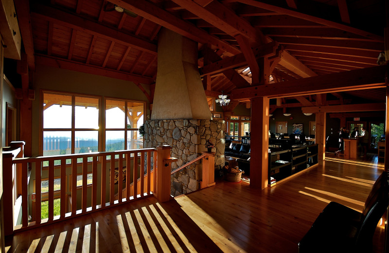 Interior at Wood Mountain Lodge.