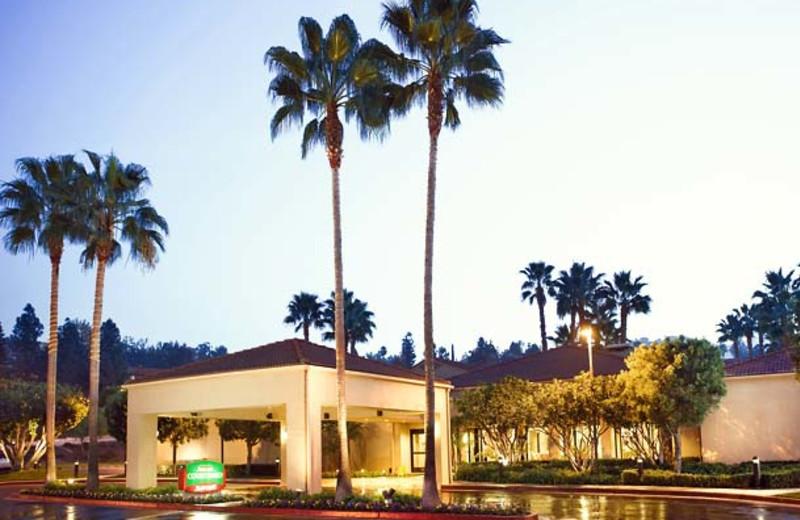 Exterior view of Courtyard by Marriott Los Angeles Hacienda Heights/Orange County.