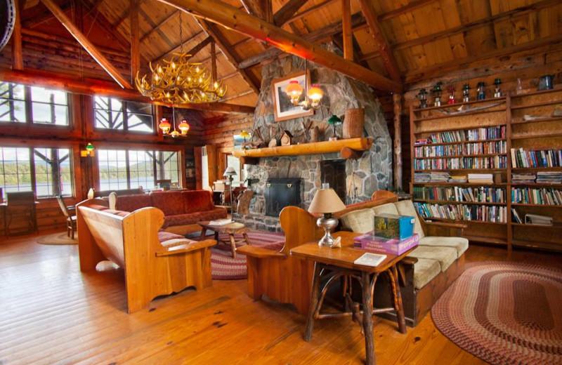 Lounge at Timberlock.