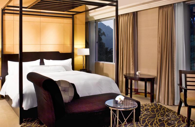 Guest room at The Miyako.