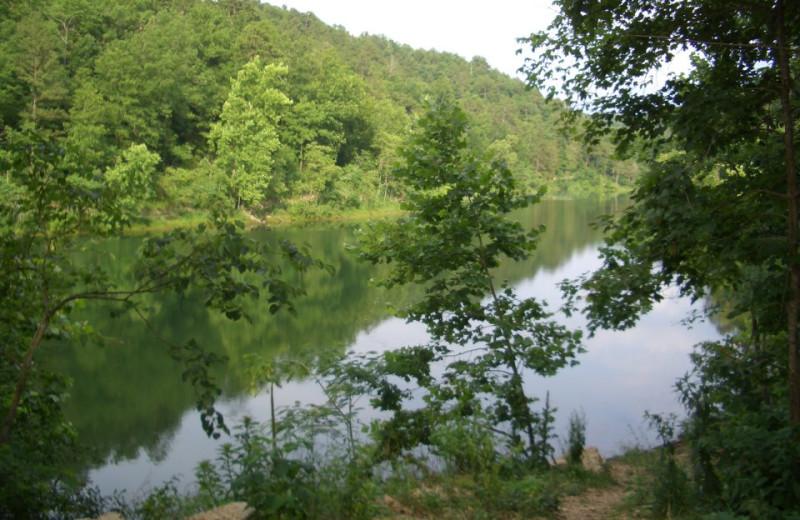 Lake View at Hidden Hollow Cabins