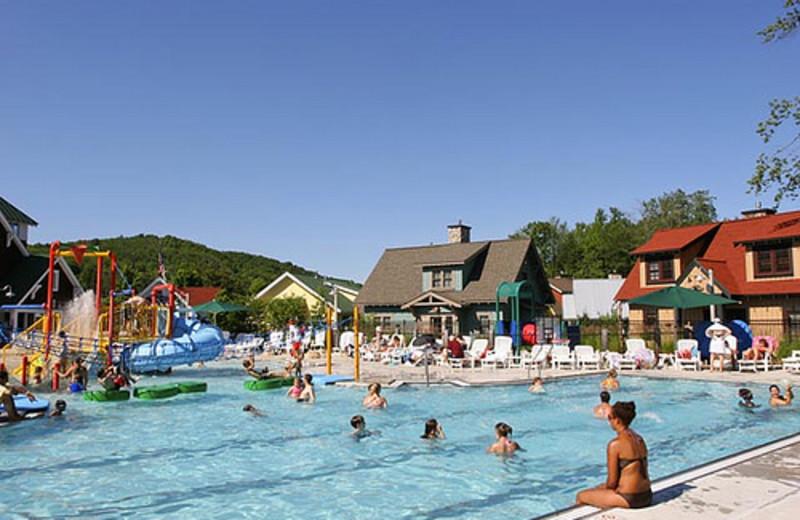 Water park at Crystal Mountain Resort and Spa.