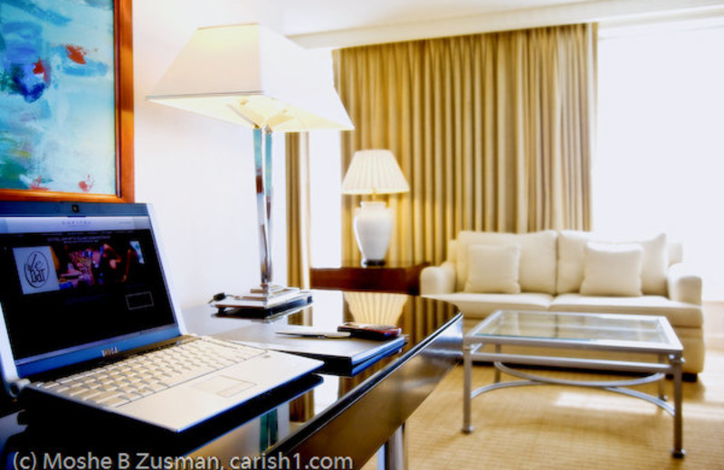 WiFi access in guest rooms at Sofitel Washington D.C. Lafayette Square.