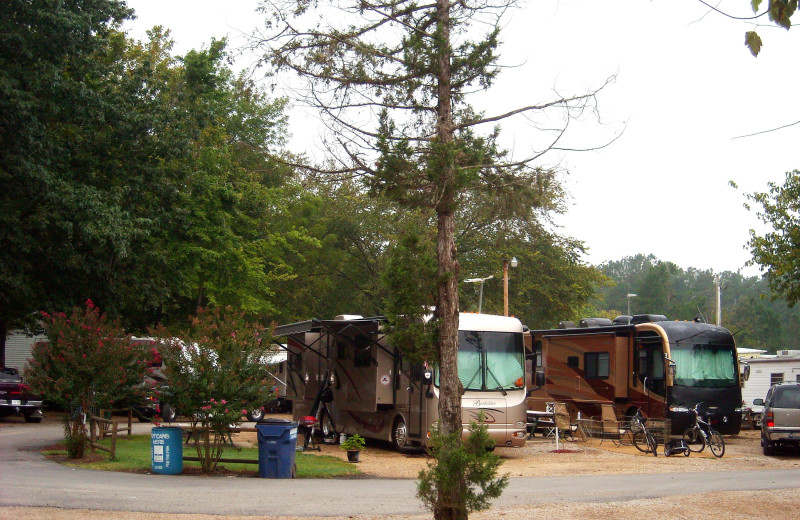 RV camp at Copper John's Resort.