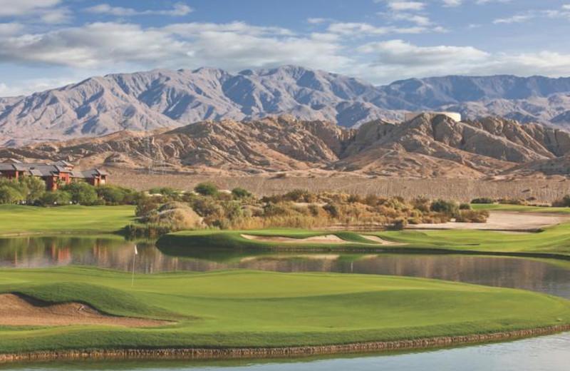 Golf course at Resort at Indio.