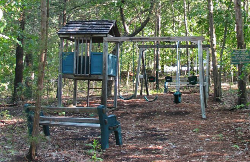 Kid's playground at The Village At Indian Point.