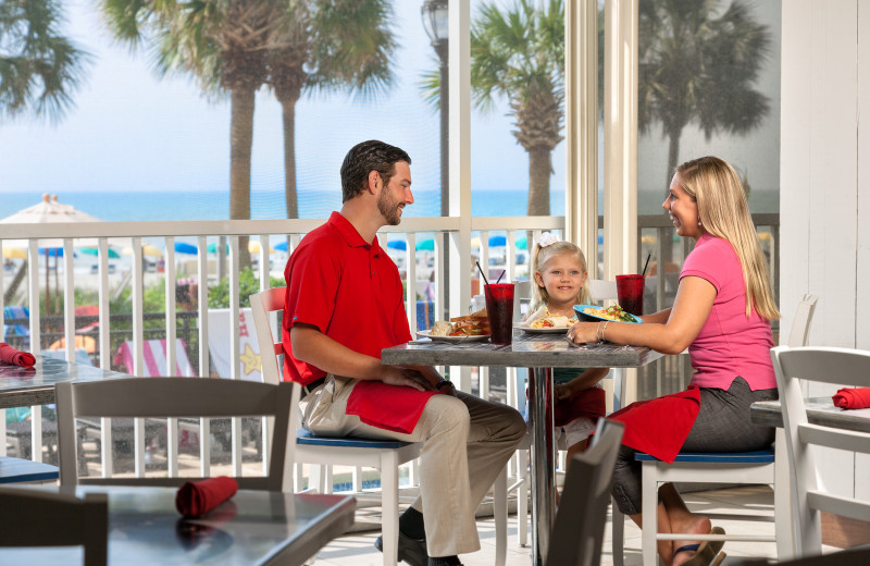 Couple dining at The Breakers Resort.