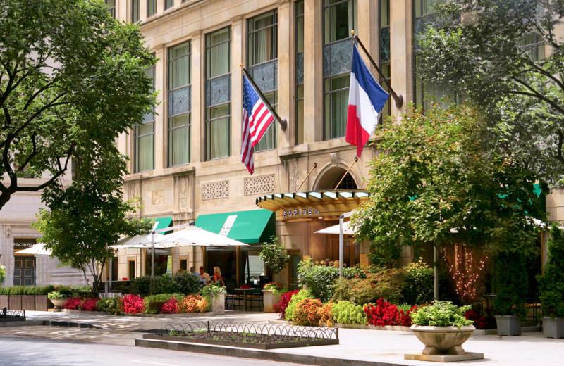 Exterior view of Sofitel Washington D.C. Lafayette Square.
