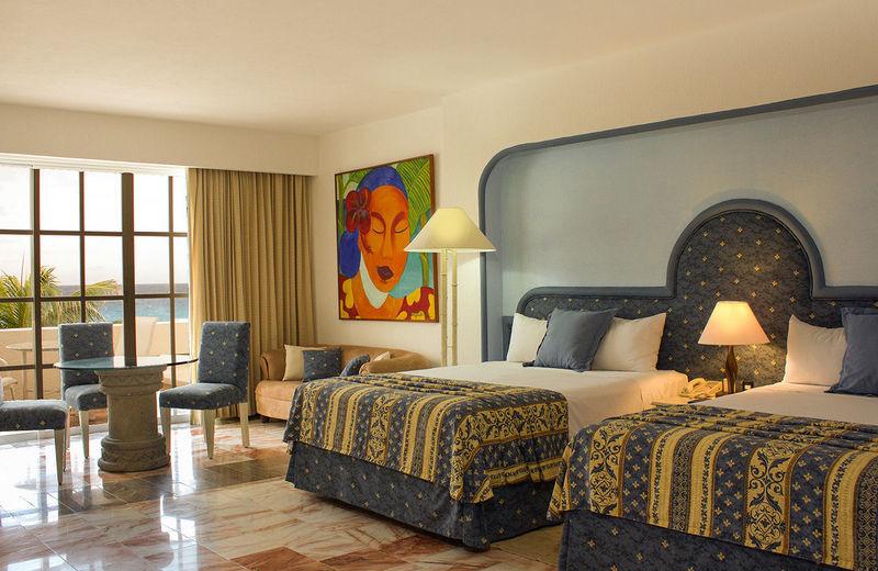 Guest room at Casa Turquesa.