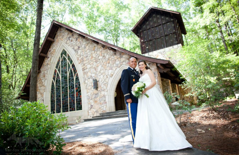 Wedding at Callaway Gardens.