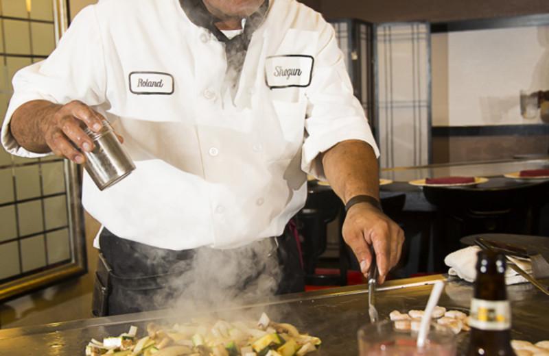 Shogun Japanese Restaurant at Rosen Inn.