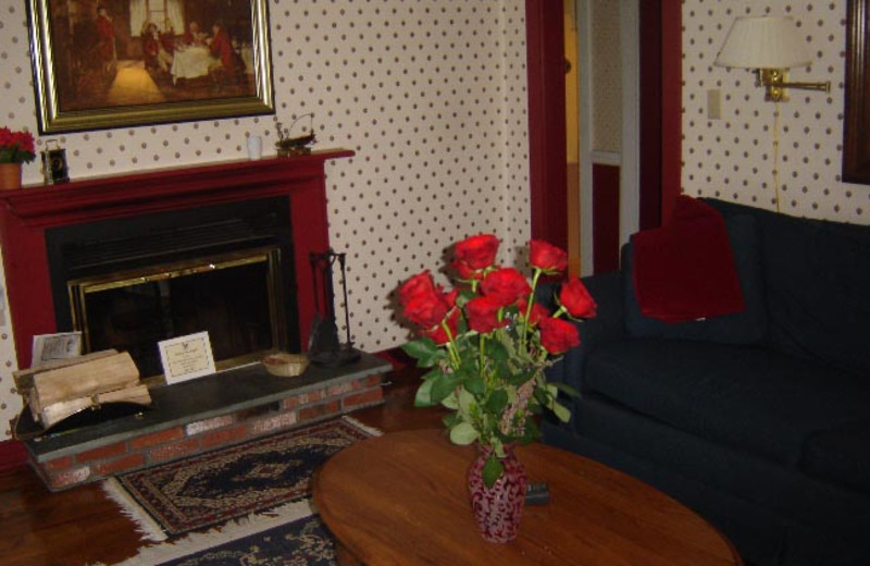 Sitting area at Nutmeg Country Inn.