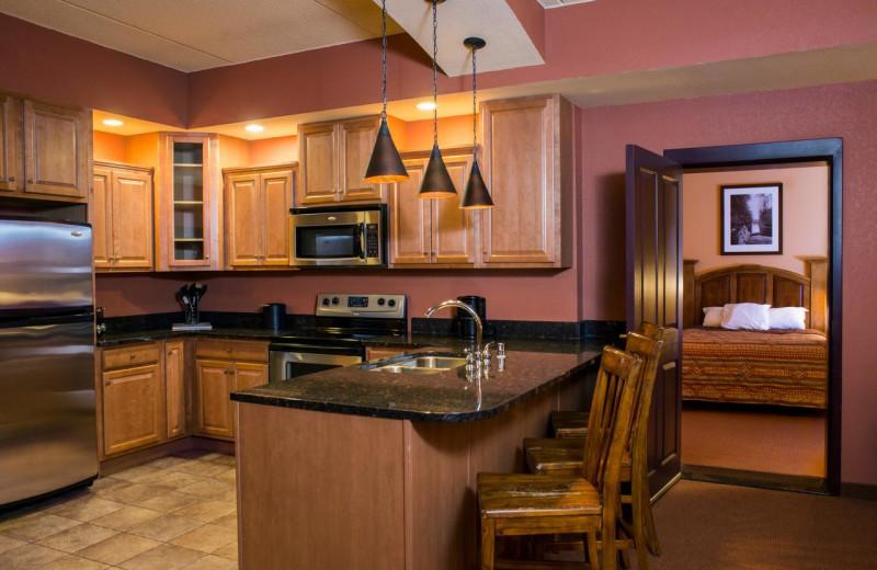 Guest kitchen at Chula Vista Resort.
