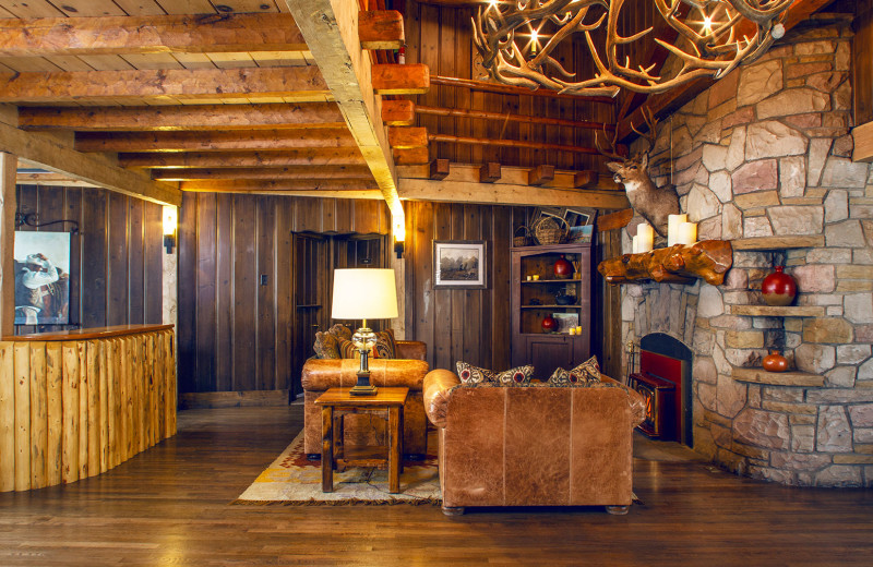Lobby at Jackson Hole Lodge.