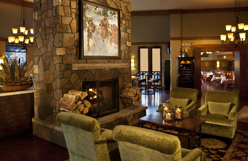 Lobby area at The Charter at Beaver Creek.