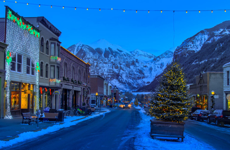 Holidays at Accommodations in Telluride.