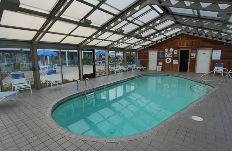 Indoor pool at Mariner Resort.