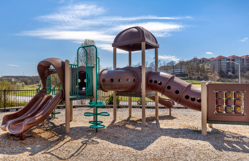 Playground at Thousand Hills Vacations.