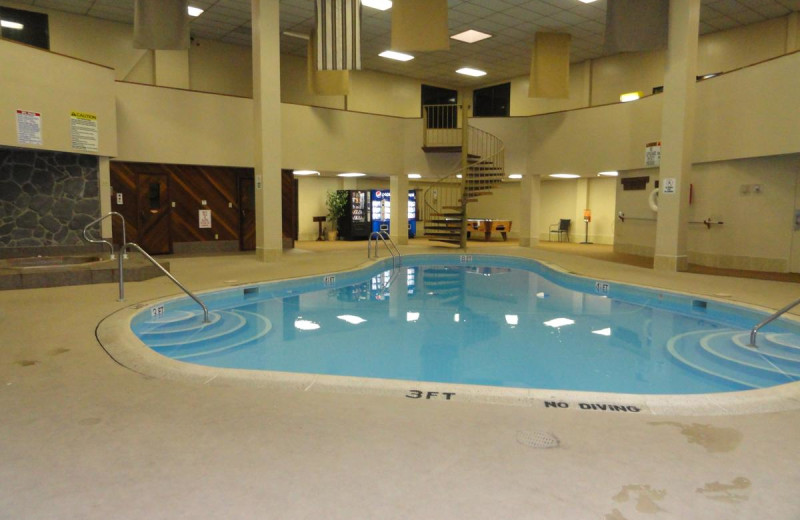Indoor pool at Pinnacle Inn Resort.