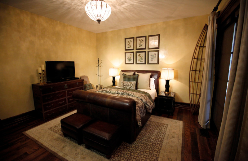 Guest room at Morrell Ranch.