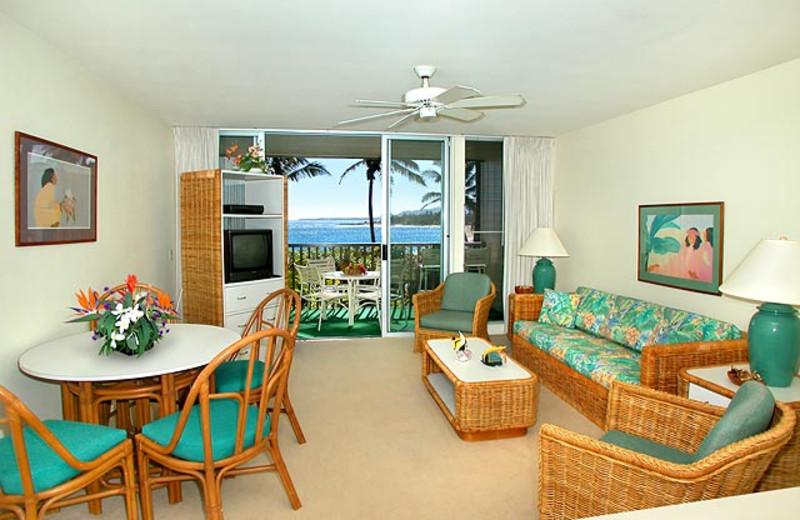 Vacation rental Interior at Wailua Bay View Condos.