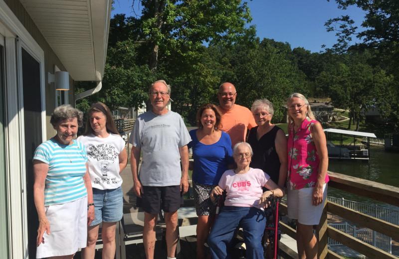 Reunions at Point Randall Resort.