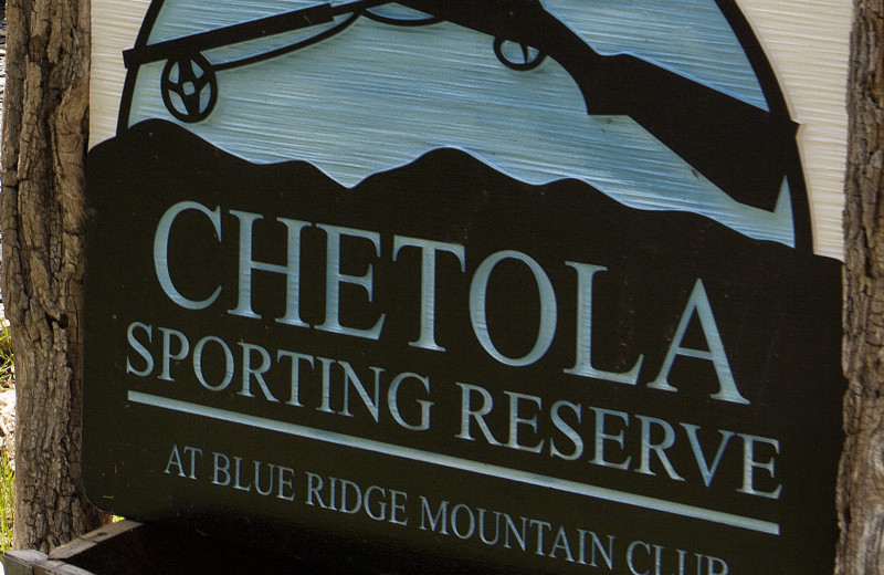 Enjoy the all NEW Chetola Sporting Reserve.  Inquire at the Club or with our Concierge.