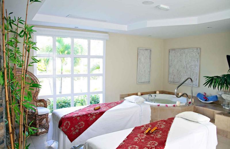Spa massage room at Bahia Principe Tulum.