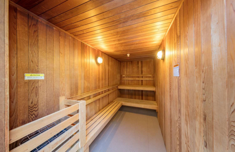 Sauna at Best Western Plus Stevenson Manor.