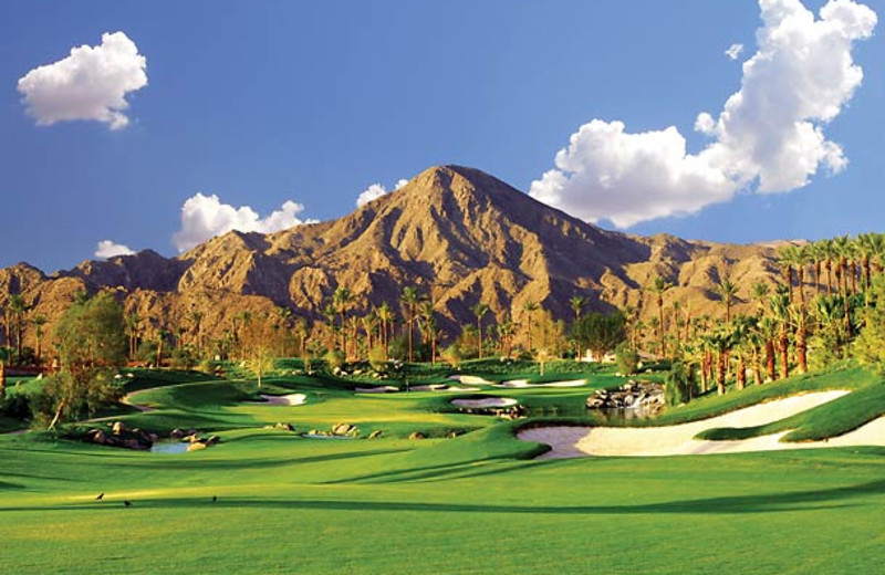 Golf course at Renaissance Esmeralda Resort.