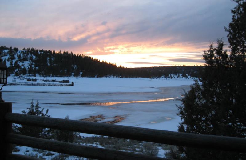 Sunrise at Aspen Ridge Resort.