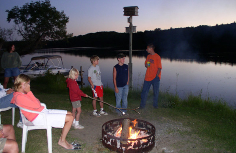 Outdoor activities at Moore Springs Resort.