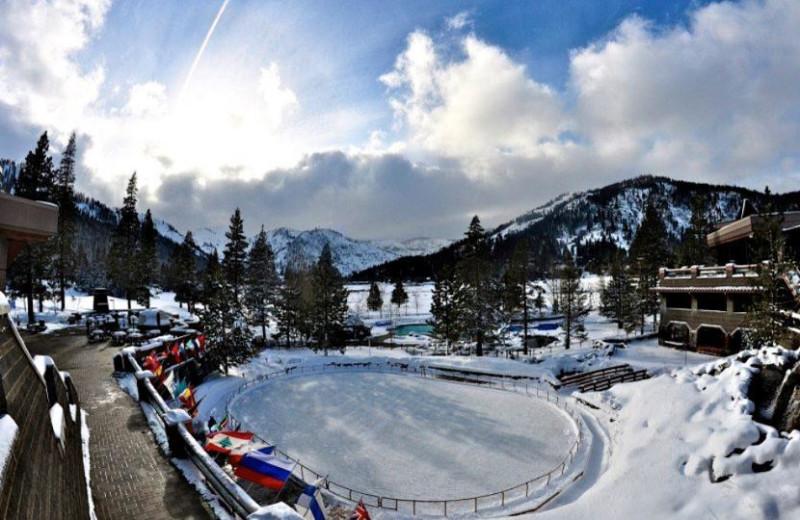 Ice Rink at Resort at Squaw Creek